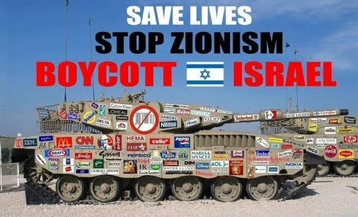 BOYCOTT Israel.