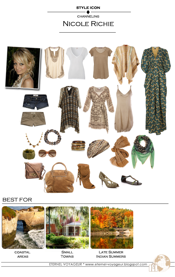 nicole richie packing inspiration capsule