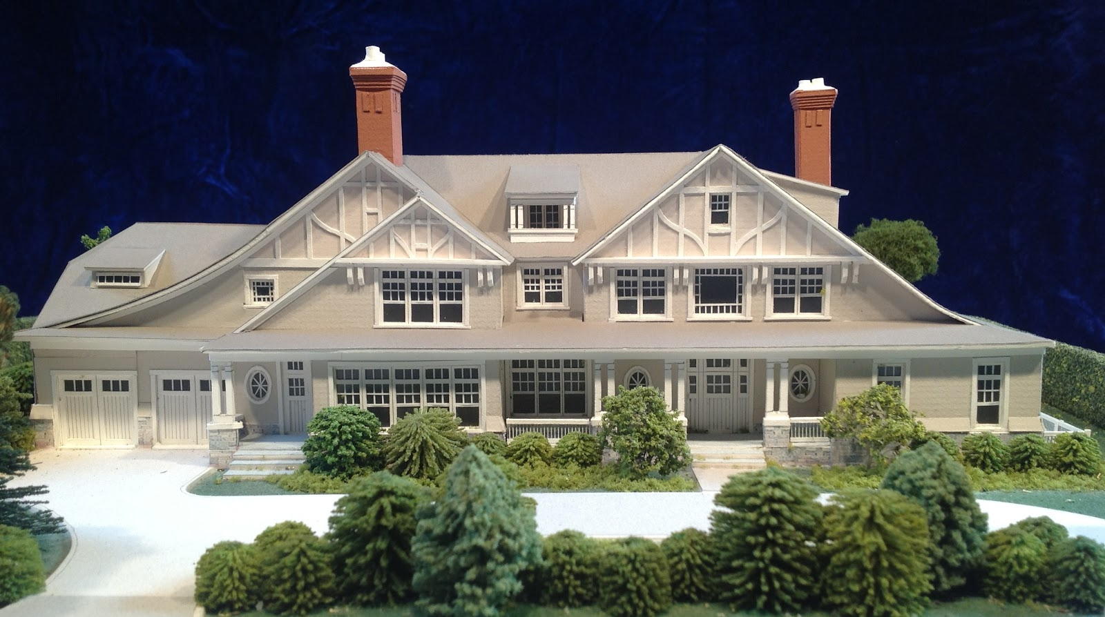 Architectural house models of houses in the hamptons long for Houses models