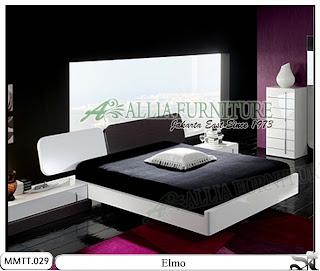 Tempat Tidur Minimalis Modern Elmo 180 X 200