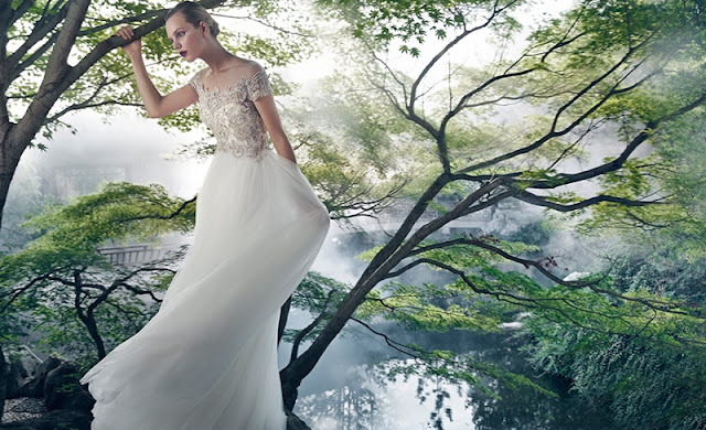 Badgley Mischka Bridal Campaign Spring 2016