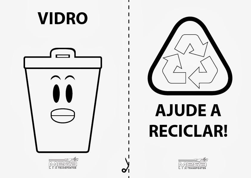reciclar desenho simbolo da reciclagem para colorir pascoa desenhos