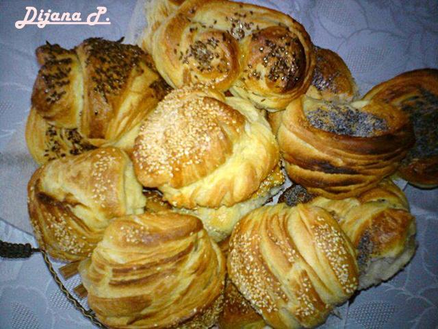 Mamina jela: Vaši recepti - Slana lisnata peciva
