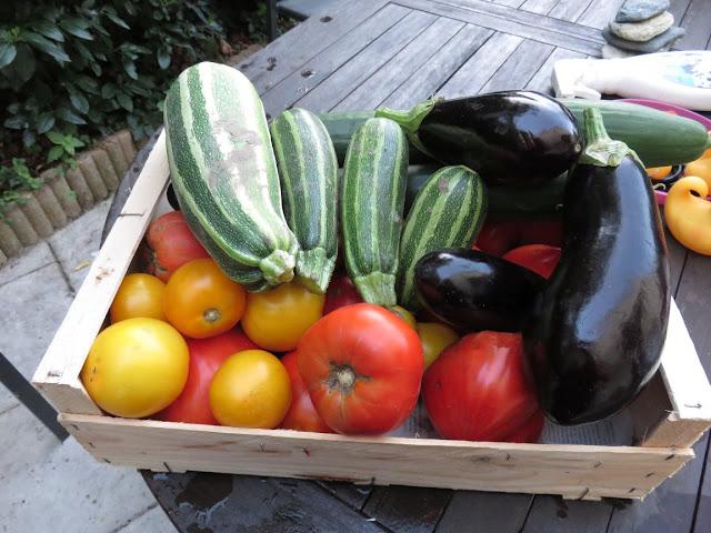 Livraison de légumes bio du potager