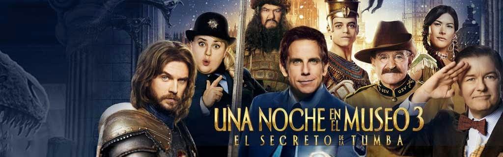Una Noche en el Museo 3: El Secreto de la Tumba (2014)