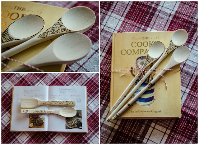 DIY Woodburned Spoons & Gift- lemonthistle.blogspot.com