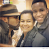 Banky W's mother and younger brother [PHOTO]