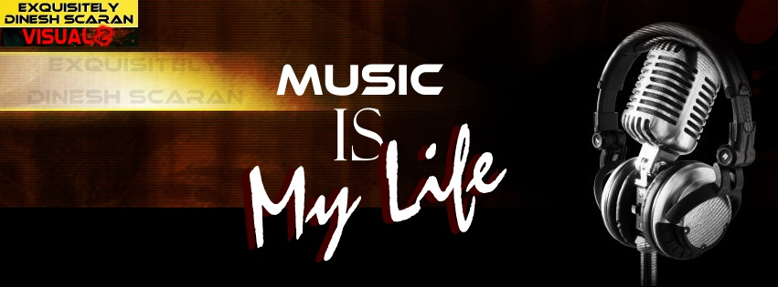 Music is my life es facebook covers