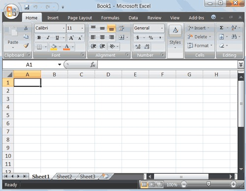 Image of Excel 2010