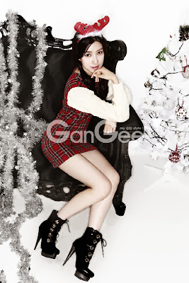 Joo Da Young - GanGee Magazine December Issue 2013