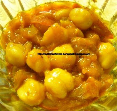 My Kitchen Flavors - Bon Appetit!: Channa Masala in Peanut ...