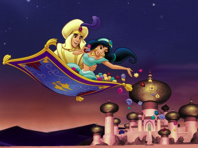 princess jasmine and aladdin kissing. princess jasmine and aladdin