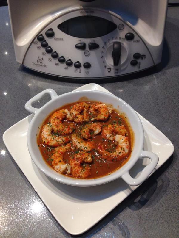 Recetas thermomix langostinos con salsa al vino de pedro ximenez y chocolate - Vino de pedro ximenez para cocinar ...