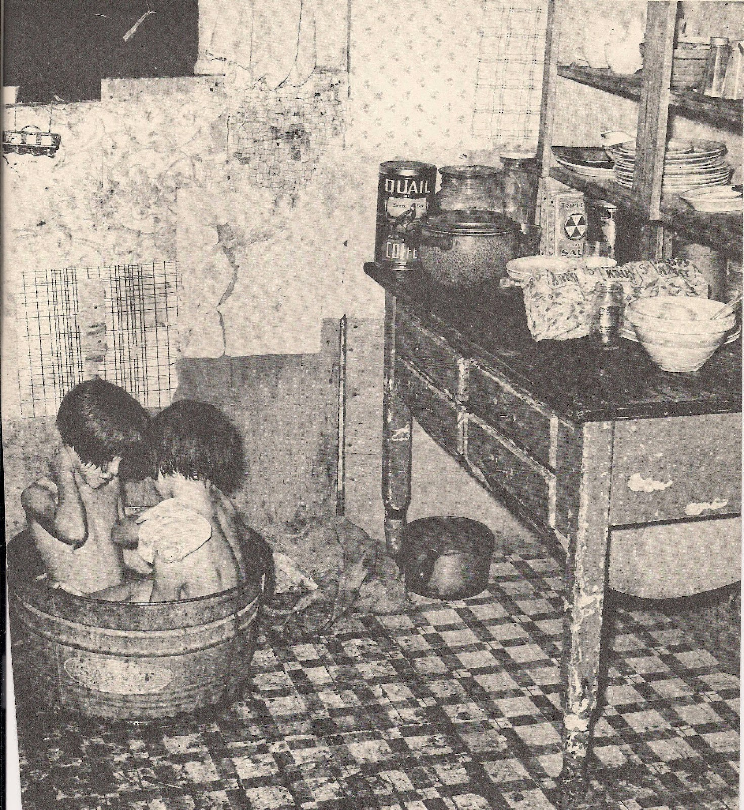 1930s Country Bath
