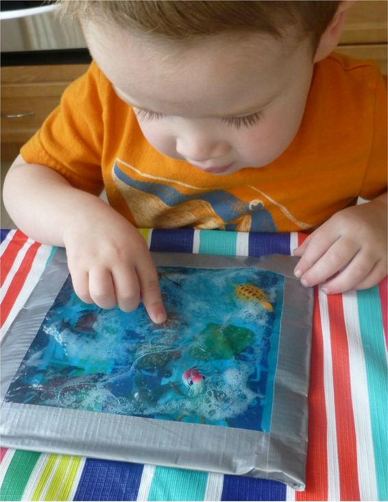 Ocean Sensory Bag from Craftulate