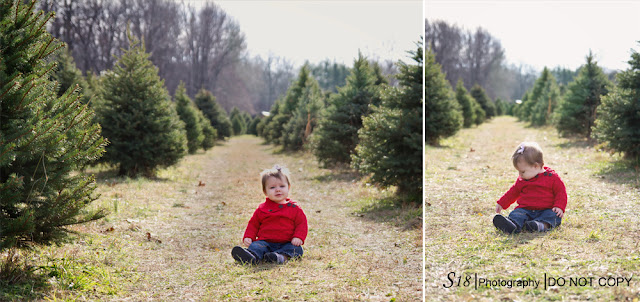 blog4 Sydney getting into the Holiday Spirit | Marlton New Jersey Baby Photographer