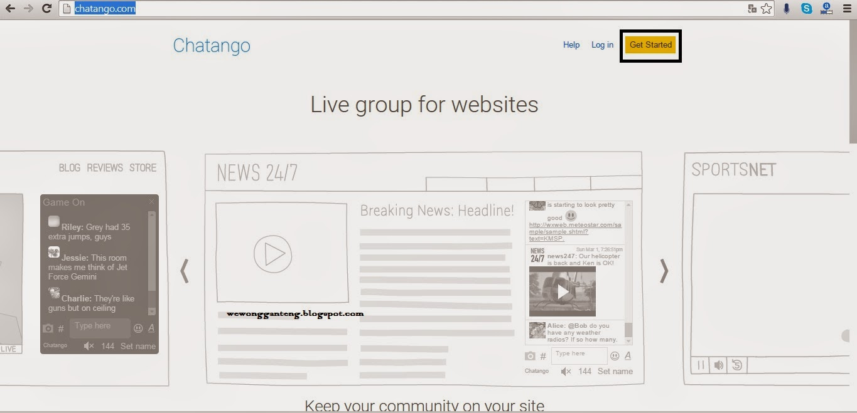 Cara Memasang chat box diblog