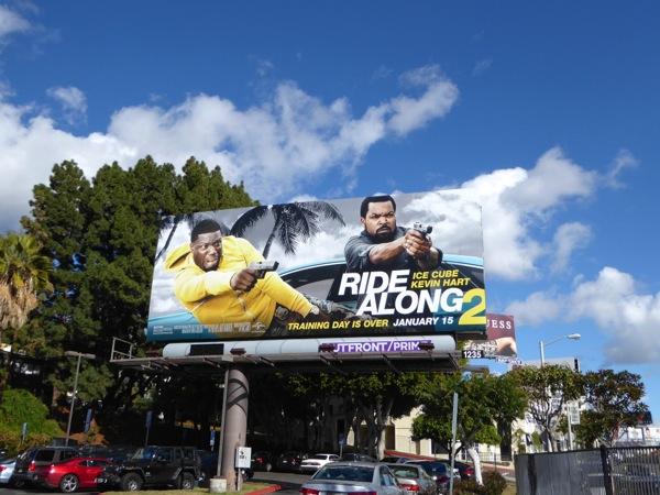 Ride Along 2 film billboard