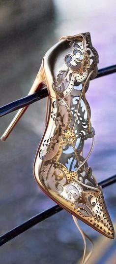 Steampunk Cinderella Slipper