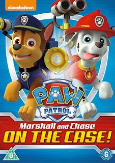 paw patrol dvd cover