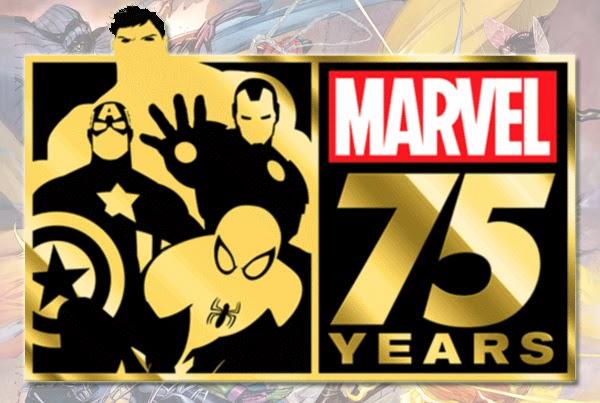 Marvel 75 years