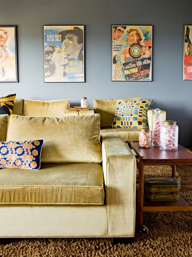 Luxury Living Room Design Ideas For Pop Art Sofa