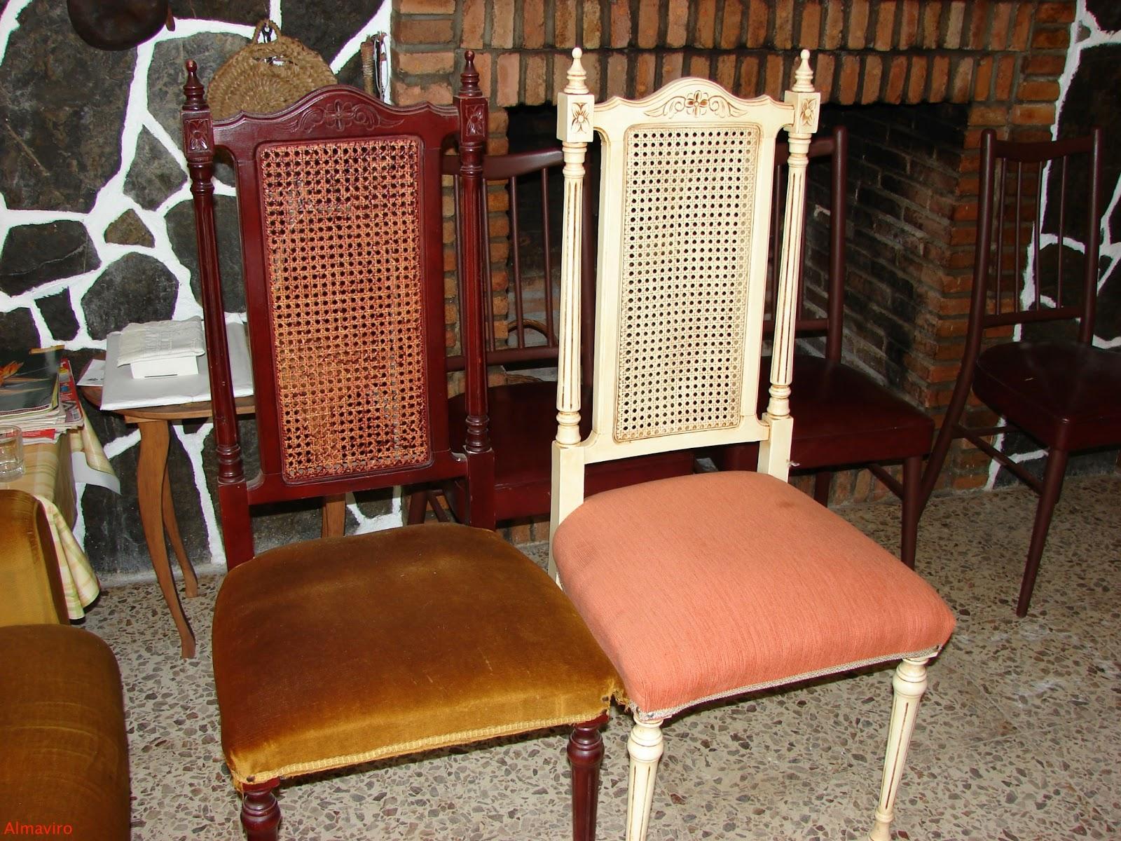 Almaviro sillas restauradas for Sillas antiguas restauradas