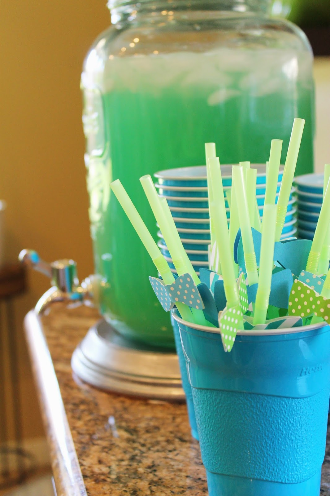 Tiffzippy Baby Shower - Bow tie straws