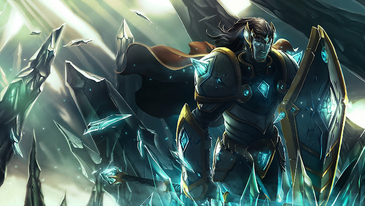 Taric art League of Legends