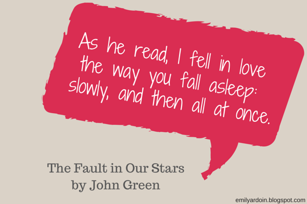 Lovely Falling In Love Quote The Fault In Our Stars Pictures ...