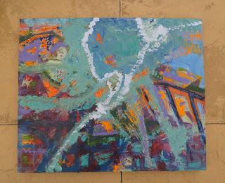 Terra oil, emulsion, mixed media 50x60 2013