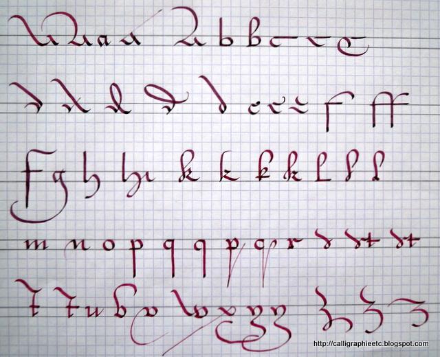 Natcalli Calligraphie & Illustration - Tatouage Lettre Calligraphique