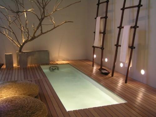 Boiserie c arredare un bagno come una spa