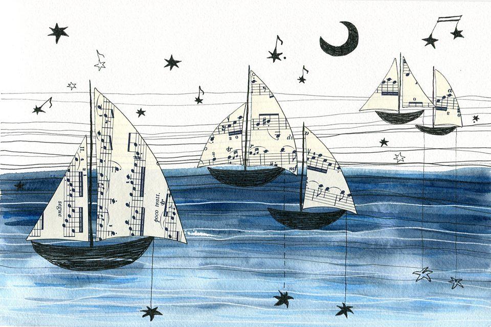 Blue Nuvola Illustrations