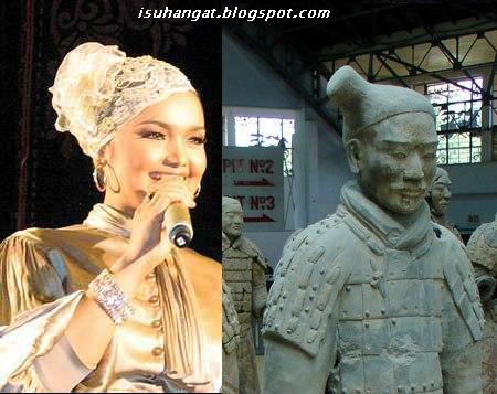 siti nurhaliza, fesyen bertudung, penyanyi malaysia,