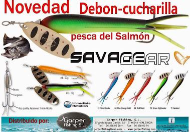 Una cucharilla única para la pesca del SALMÓN