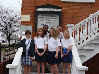 Montgomery Catholic Fourth Grade Visits Historic Civil Rights Sites in Montgomery 1