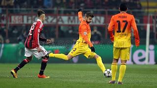 Foto FC Barcelona Vs AC Milan Terbaru Maret 2013
