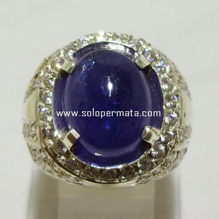 Batu Permata Blue Tanzanite Zoisite