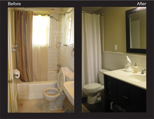 Bathroom Renos Before And After Images Frompo