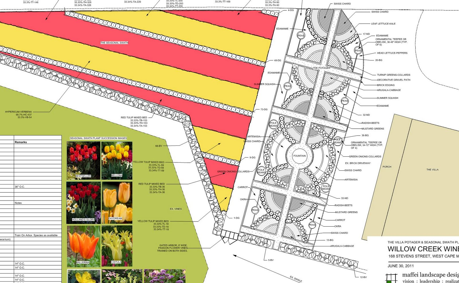maffei landscape design LLC Projects – Cape May Tourist Map