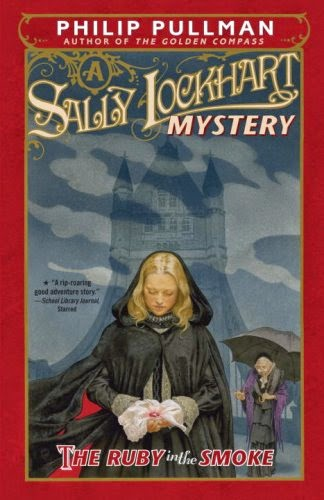 The Ruby in the Smoke by Philip Pullman book cover
