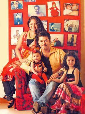 Indrajith Poornima Family