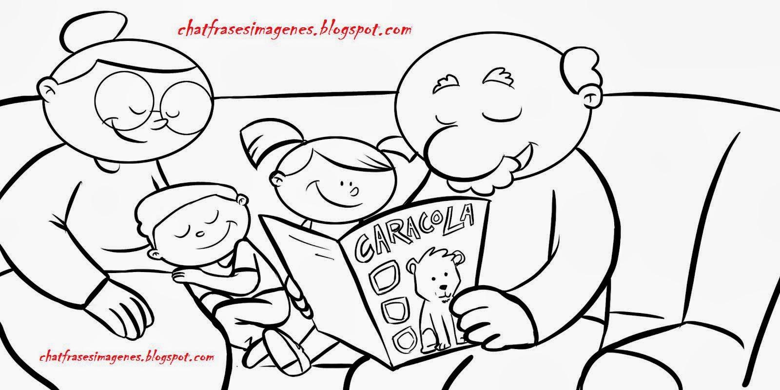 Chat con imágenes y frases bonitas para amistad: Día del abuelo y ...