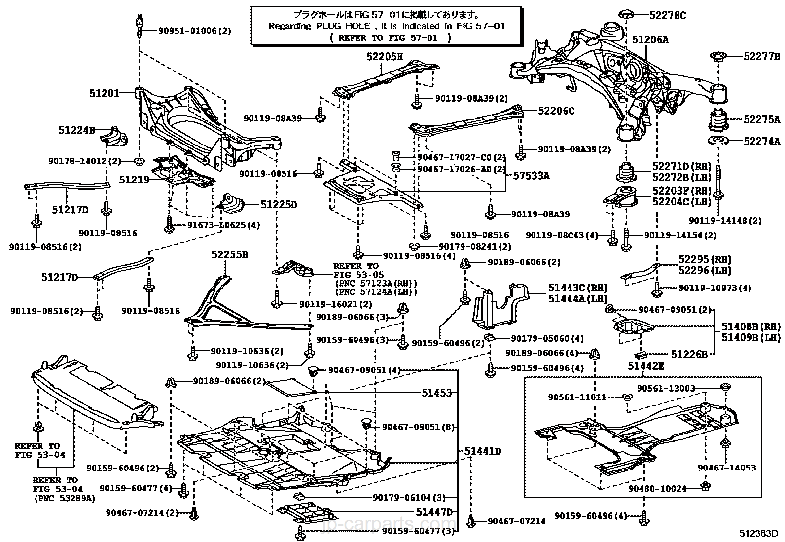 car body parts names diagram