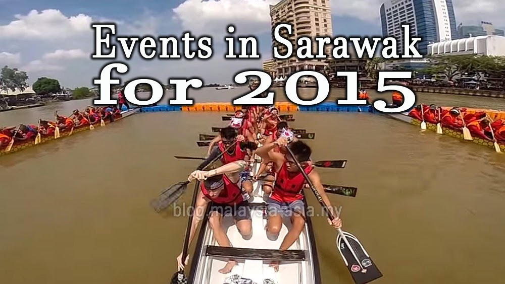 Events in Sarawak for 2015