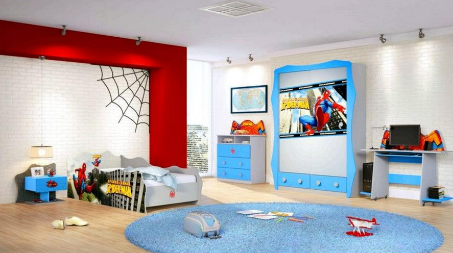 Decorar Un Dormitorio Infantil Inspirado En Spiderman