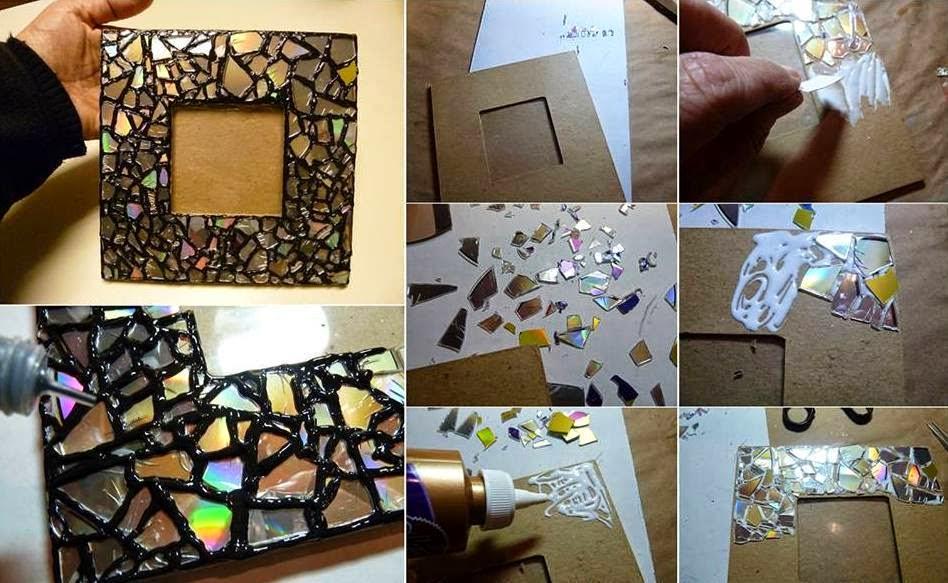 El detalle que hace la diferencia portaretratos e - Como hacer un marco de fotos a mano ...