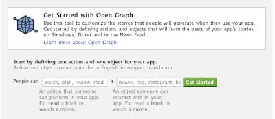 developer application of open graph start