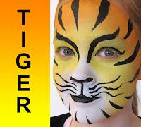 Ansigtssminke Tiger